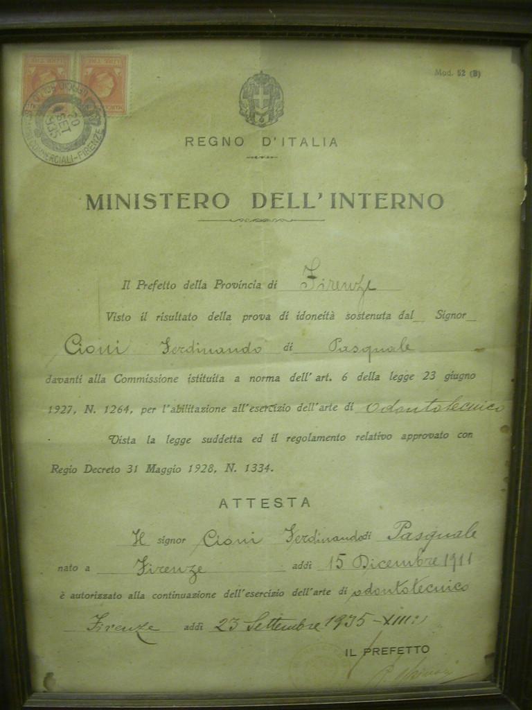 Diploma Ferdinando