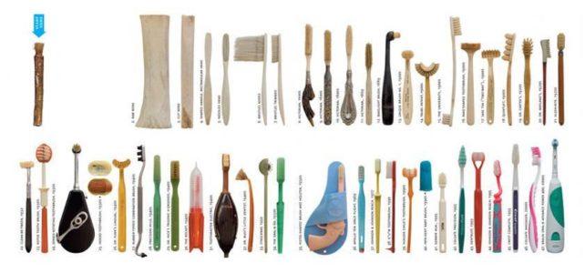 La storia del dentifricio e del nostro spazzolino.